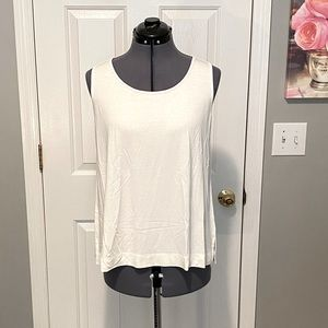 J. Jill Wherever Collection Ivory Tank M NWT
